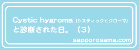 Cystic hygroma(システィックヒグローマ)と診断された日。(3).png