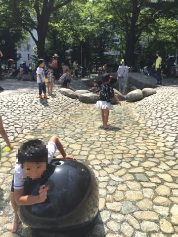 大通公園遊水路