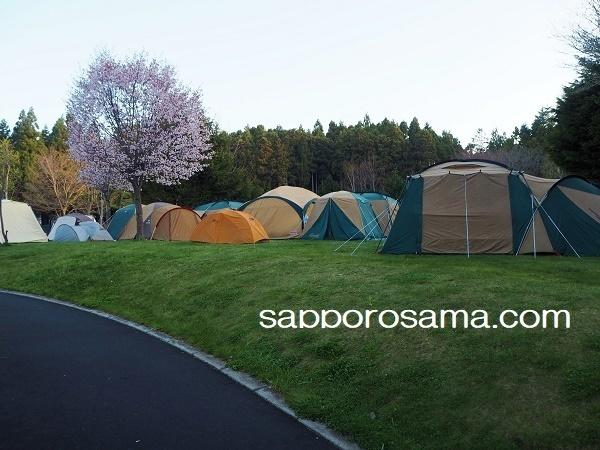 白石公園はこだてオートキャンプ場最初の朝.jpg